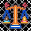 Racial Scales Discrimination Icon