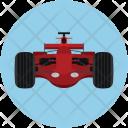 Racing Car Automobile Icon