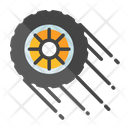 Racing Fast Tire Tire Icon
