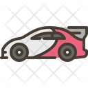 Racing Car Race Icon