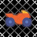 Racing Bike Bike Transport Icon