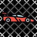 Racing Helmet Transport Icon