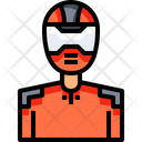 Racing driver Icon