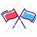 Racing Flag Sports Flag Referee Flag Icon