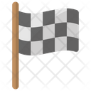 Racing Flag Game Icon