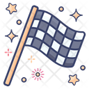 Racing Flag Checkered Flag Sports Flag Icon