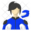 Racing player Icon