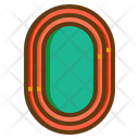 Track Racing Track Running Track Icon