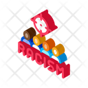 Racism Target Aim Icon