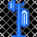 Floor Coat Rack Icon