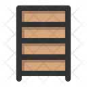 Rack Library Furniture Icon