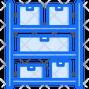 Rack Box Delivery Icon