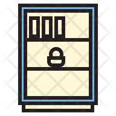 Rack Book Rack Bookshelf Icon