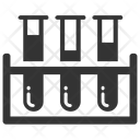 Rack Scientific Experiment Test Tubes Icon