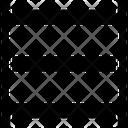 Rack Server Shelves Icon