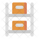 Rack Storage Package Icon