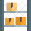 Rack Parcel Rack Boxes Icon