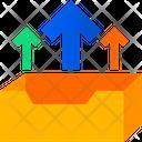 Rack Upload Document Icon