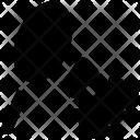 Racket Shuttlecock Badminton Icon