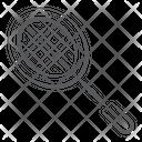 Racket Badminton Summer Olympics Icon