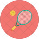 Racket Tennis Indoor Icon