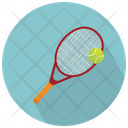 Racket And Tennis Ball Racket Tennis Icon