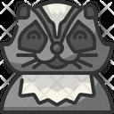 Racoon Avatar Wildlife Icon