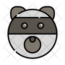 Racoon Animal Wildlife Icon