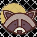 Racoon Pet Animal Icon