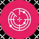 Radar Nautical Search Icon