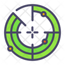 Nautical Search Scan Icon