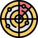 Radar Map Navigation Icon