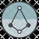 Radar Graph Design Icon
