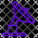 Radar Parabola Space Icon