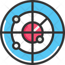 Targetv Radar Signal Icon