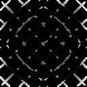 Radar Sonar Direction Finding Icon