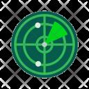 Radar Range Signal Icon