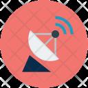 Radar Antenna Signals Icon