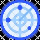 Map Navigation Radar Icon