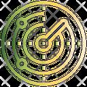 Radar Space Cosmos Icon