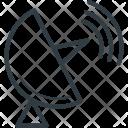 Radar Satellite Dish Icon