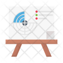Radar Board Space Icon