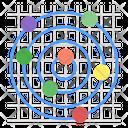 Radar Chart Icon