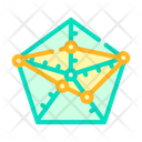 Radar Chart Color Icon