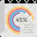 Radial Bar Chart Icon