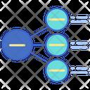 Radial List Icon