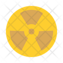 Radiation Nuclear Alert Icon