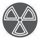 Radiation Alert Nuclear Icon
