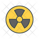 Radiation Biohazard Nuclear Icon