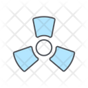 Radiation Nuclear Science Icon